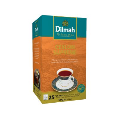 Čaj Dilmah Ceylon Supreme 25x2g
