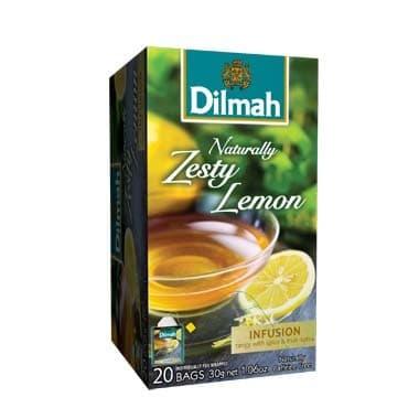 Dilmah Naturally Zesty Lemon