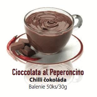 Čokoláda LaVita Chilli 50x30g