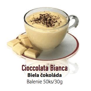 Čokoláda LaVita Biela 50x30g