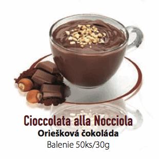 Čokoláda LaVita Oriešková 50x30g