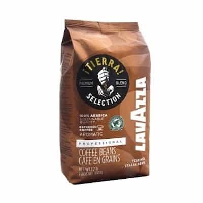 Lavazza Tierra zrnková káva 1kg