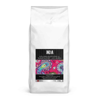"""Xcoffee India Plantation AA """"Bababudangiri"""" zrnková káva"""