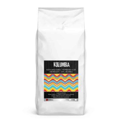 Xcoffee Kolumbia Supremo 18 EP Medellin zrnková káva