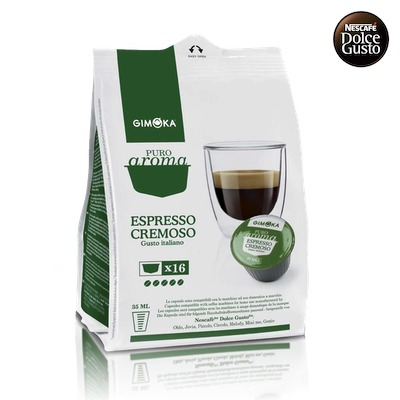 Gimoka Espresso Cremoso pre Dolce Gusto 16ks