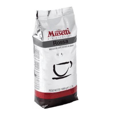 Musetti Rossa zrnková káva 1kg