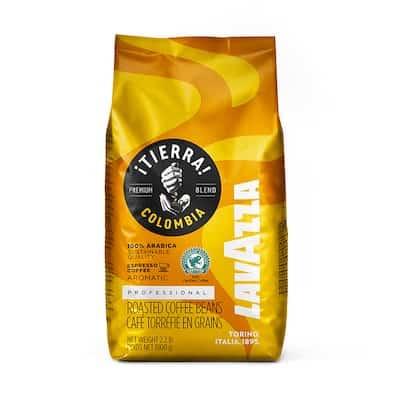 Lavazza Tierra Colombia zrnková káva 1kg