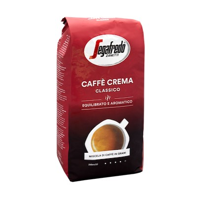 Segafredo Caffe Crema Classico zrnková káva 1kg