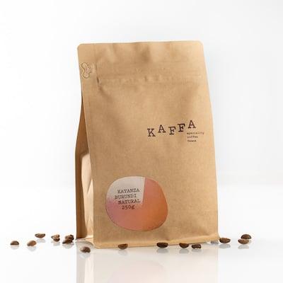 Kaffa Burundi Kayanza zrnková káva 250g