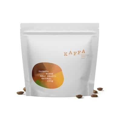 Kaffa Brazilia Fazenta Monte Belo zrnková káva 250g