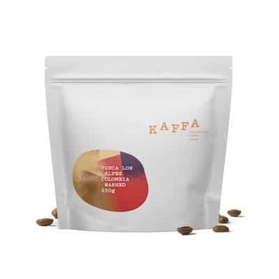 Kaffa Colombia Finca Los Alpes zrnková káva 250g