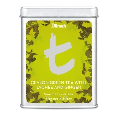T-Series Green Tea with Lychee & Ginger DÓZA 75g