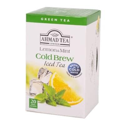 Ahmad Ľadový čaj Citrón a Mäta 20x2g