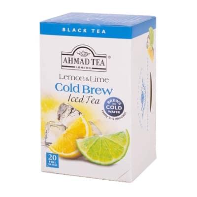 Ahmad Ľadový čaj Limetka a Citrón 20x2g