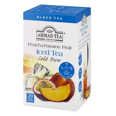 Ahmad Ľadový čaj Broskyňa a Marakuja 20x2g