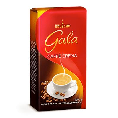 Eduscho Gala Caffe Crema zrnková káva 1kg