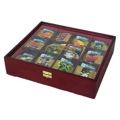 Čaj Qualitea Drevená Kazeta 120x2g