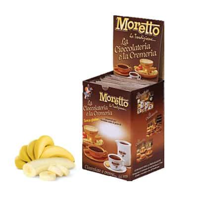 Čokoláda Moretto Banán 12x30g