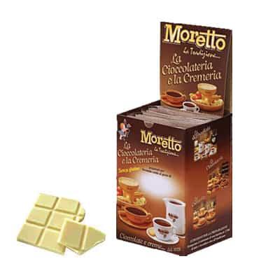 Čokoláda Moretto Biela 12x25g