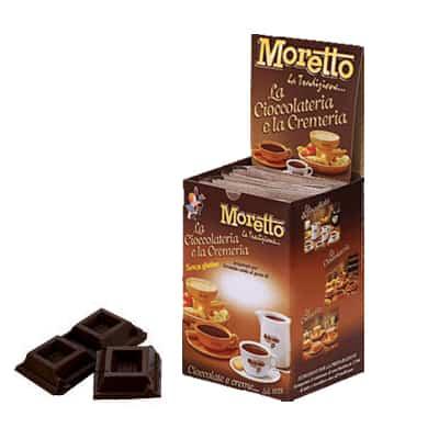Čokoláda Moretto Extra Horká 12x30g