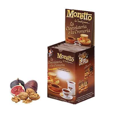 Čokoláda Moretto Figa a Orech 12x30g