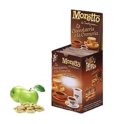 Čokoláda Moretto Jablko a Píniové Oriešky 12x30g