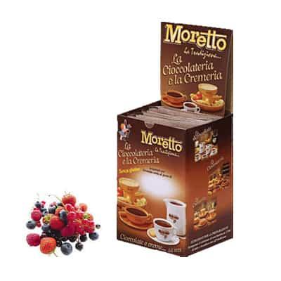 Čokoláda Moretto Lesné Ovocie 12x30g