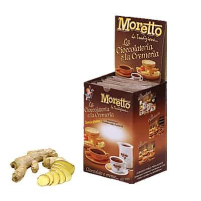 Čokoláda Moretto Zázvor 12x30g