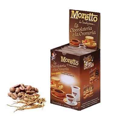 Čokoláda Moretto Ženšen a Káva 12x30g