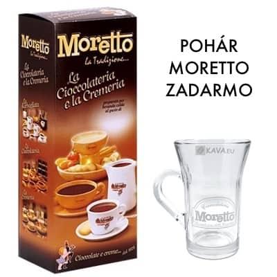 Čokoláda Moretto Mliečna 50x30g + Pohár ZADARMO