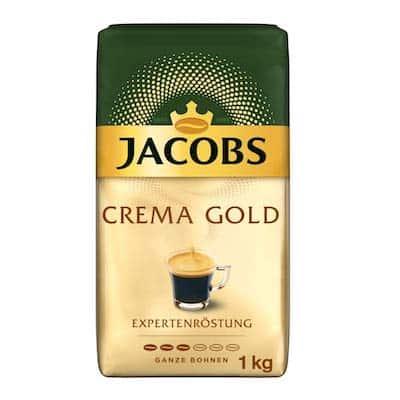 Jacobs Crema Gold zrnková káva 1kg