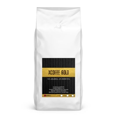 Xcoffee Gold 70/30 zrnková káva