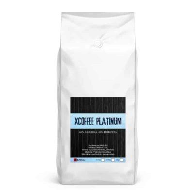 Xcoffee Platinum 80/20 zrnková káva