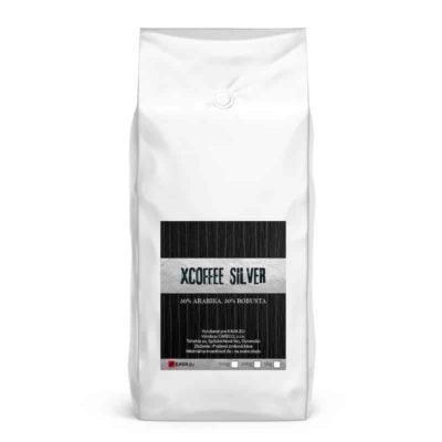 Xcoffee Silver 50/50 zrnková káva