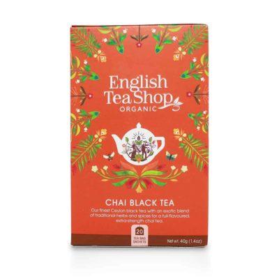English Tea Shop CHAI Čierny Čaj 20x2g