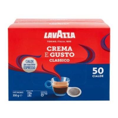 Lavazza Crema e Gusto Classico E.S.E. pody 50ks