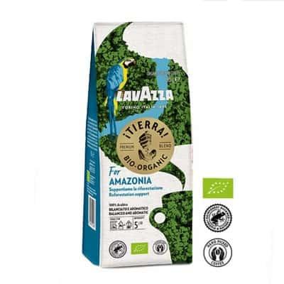 Lavazza Tierra Bio-Organic for Amazonia mletá káva 180g