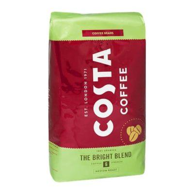 Costa Bright Blend zrnková káva 1kg