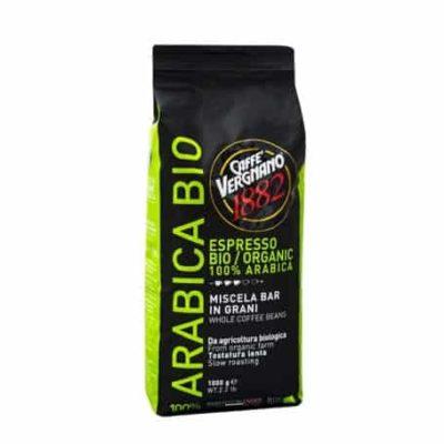Vergnano 100% Arabica Organic zrnková káva 1kg